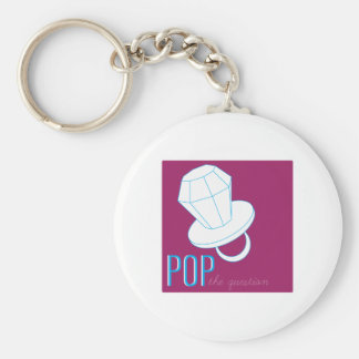 Pop The Question Key Chains