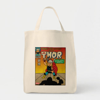 Pop Thor Comic Cover #125 Grocery Tote Bag