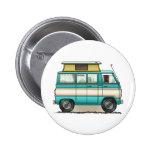 Pop Top Van Camper Button