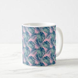 Pop Tropical Leaves Seamless Pattern Series 1 Coffee Mug