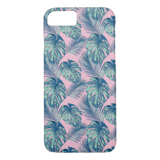 Pop Tropical Leaves Seamless Pattern Series 1 iPhone 8/7 Case