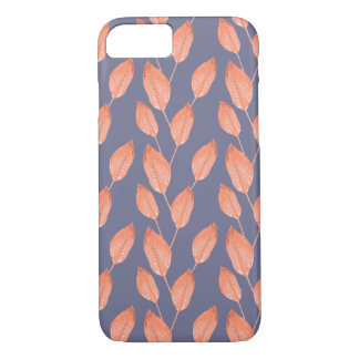 Pop Tropical Leaves Seamless Pattern Series 2 iPhone 8/7 Case