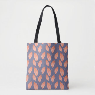 Pop Tropical Leaves Seamless Pattern Series 2 Tote Bag