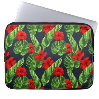 Pop Tropical Leaves Seamless Pattern Series 3 Laptop Sleeve
