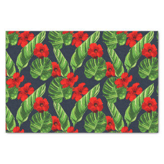 Pop Tropical Leaves Seamless Pattern Series 3 Tissue Paper