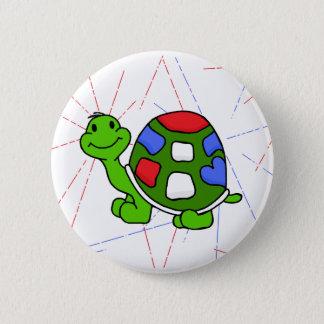 Pop Turtle 4th! 6 Cm Round Badge
