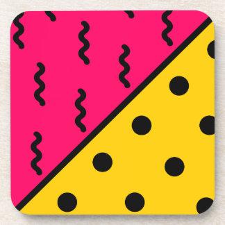 PopArt Pattern Coaster