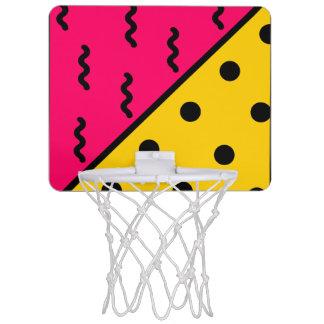 PopArt Pattern Mini Basketball Hoop