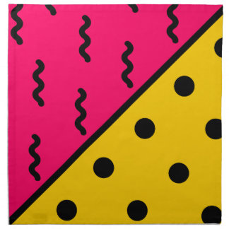 PopArt Pattern Napkin