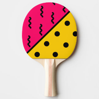 PopArt Pattern Ping Pong Paddle