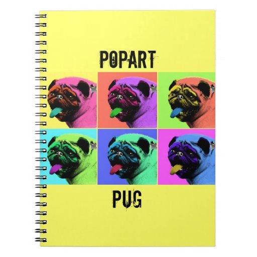 POPART PUG NOTEBOOKS
