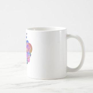 PopArt Purple Hearts Mug