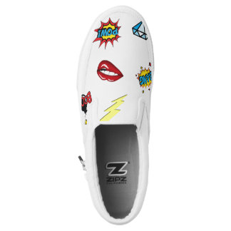 PopArt Shoes Printed Shoes
