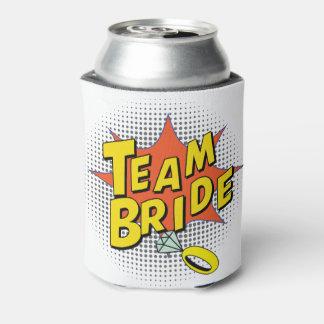 Popart Team Bride Can Cooler