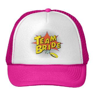 Popart Team Bride Cap