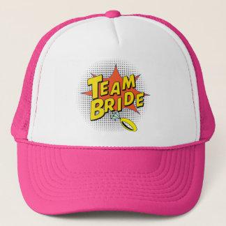 Popart Team Bride Trucker Hat
