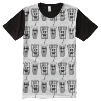 popcorn and soda All-Over print T-Shirt