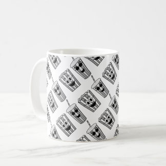 popcorn and soda funny coffee mug