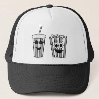 popcorn and soda trucker hat