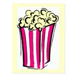 Popcorn Box Postcard