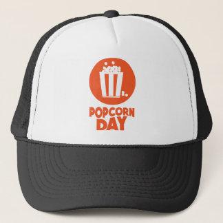 Popcorn Day - Appreciation Day Trucker Hat