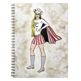 Popcorn Girl Notebook