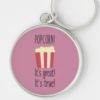 Popcorn! its great Zbzkp Key Ring