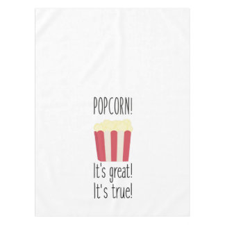 Popcorn! its great Zbzkp Tablecloth