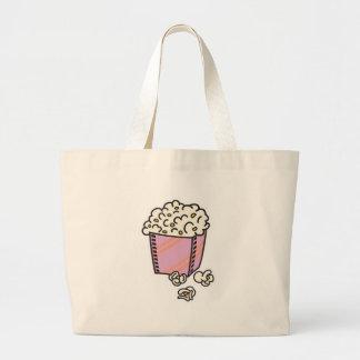 popcorn jumbo tote bag