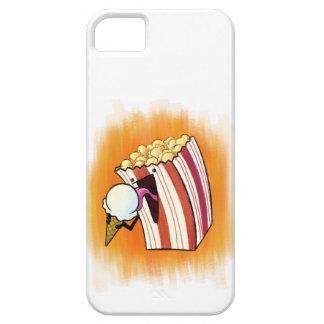 Popcorn Loves Ice Cream iPhone 5 Case