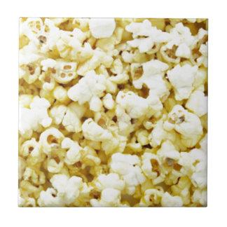 Popcorn Madness Small Square Tile