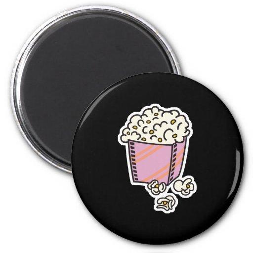 popcorn refrigerator magnets
