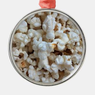 Popcorn Metal Ornament