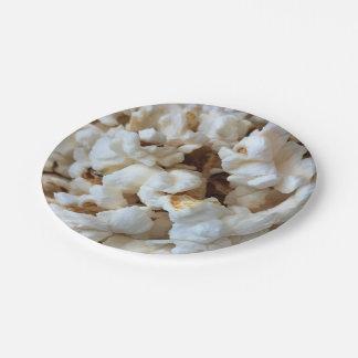 Popcorn Paper Plate