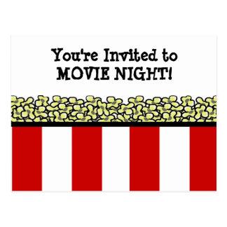 Popcorn Postcard
