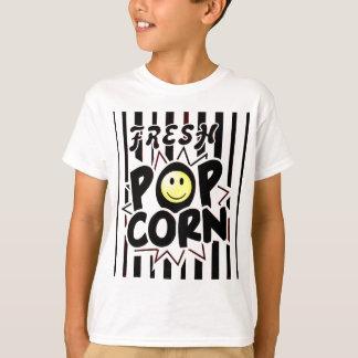 Popcorn Smiley Face T-Shirt