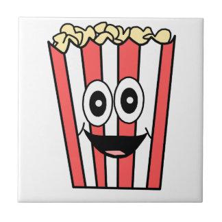 popcorn smiling ceramic tile