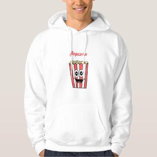 popcorn smiling hoodie