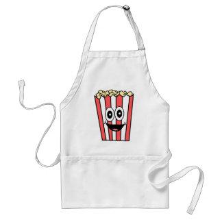 popcorn smiling standard apron
