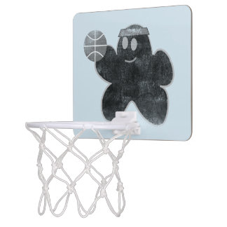 Popcorn vs Nacho grunge Basketball Goal Mini Basketball Hoop