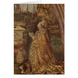 Pope Alexander VI, 1492 Card