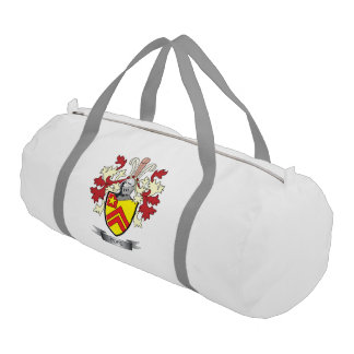 Pope Family Crest Coat of Arms Gym Bag