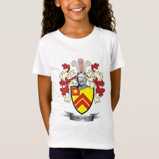 Pope Family Crest Coat of Arms T-Shirt