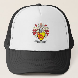 Pope Family Crest Coat of Arms Trucker Hat