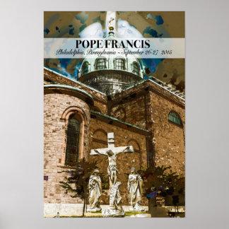 Pope Francis Visits Philadelphia Poster