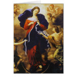 Pope Francis's Prayer to Our Lady Untier of Knots Greeting Card
