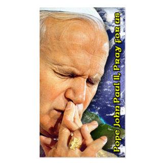 Pope John Paul II Beatification Card Business Card