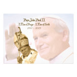 Pope John Paul II Collage Notecards Invite
