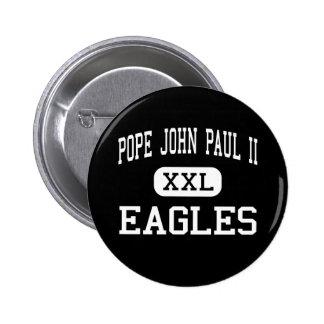 Pope John Paul II - Eagles - High - Boca Raton Button
