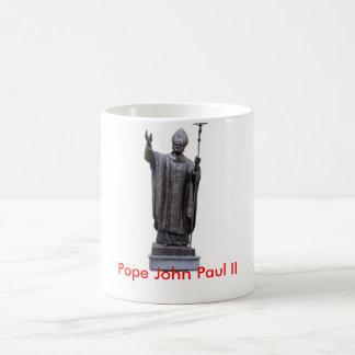 Pope John Paul II Basic White Mug